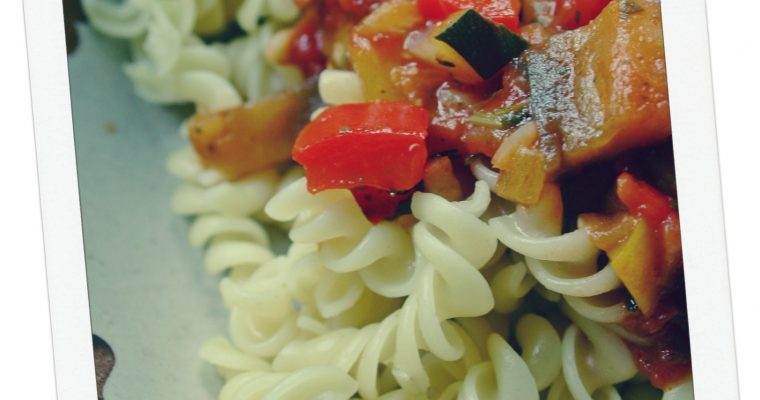 Mixed Vegetables with Penne Pasta